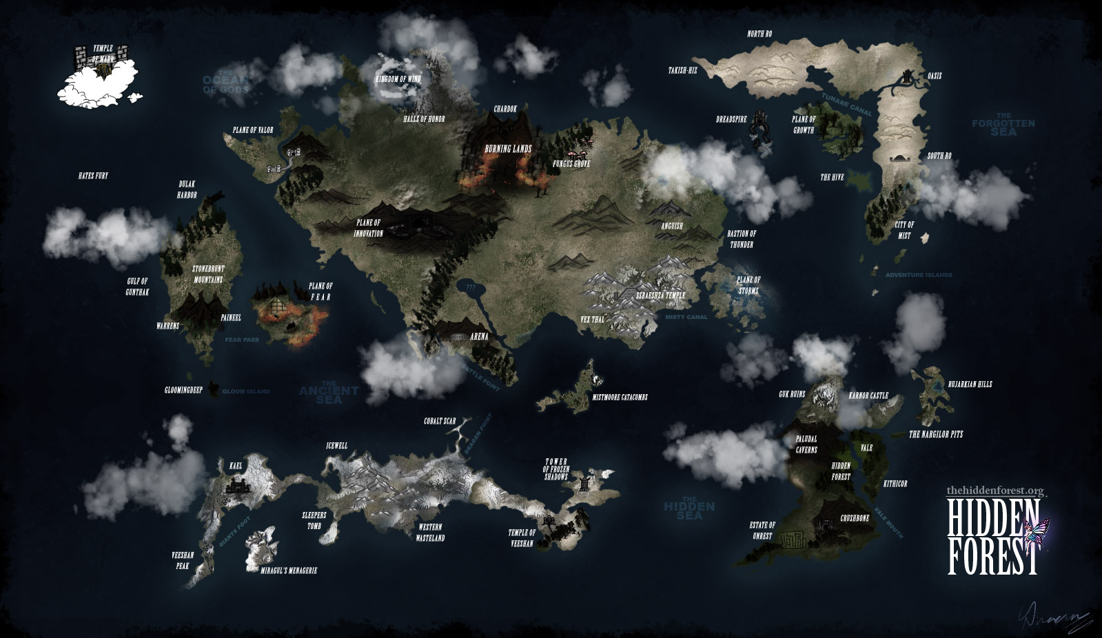 THF Map Pack - The Hidden Forest